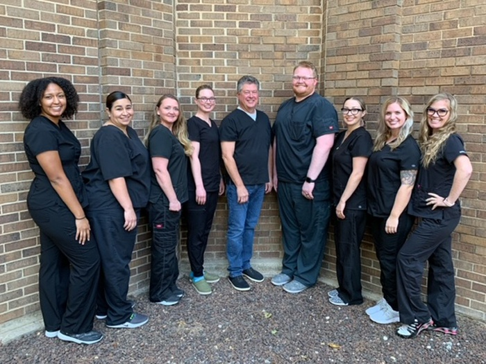 midland dental practice team