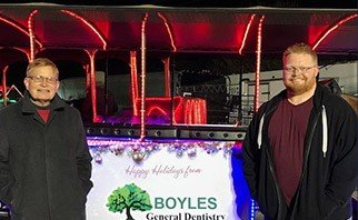Boyles General Dentistry doctors at community event